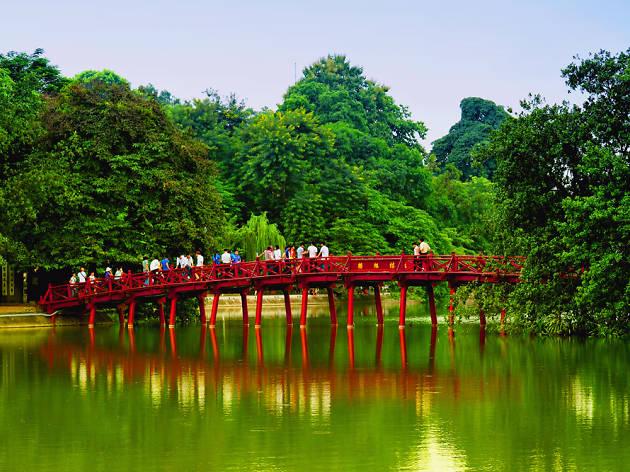 ĐềnNgọcSơn, Hanoi, Vietnam