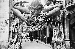 Guarniment Festa Major de Gràcia 1935