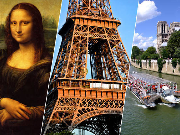 Louvre tours: The Louvre, Eiffel Tower Summit and Cruise