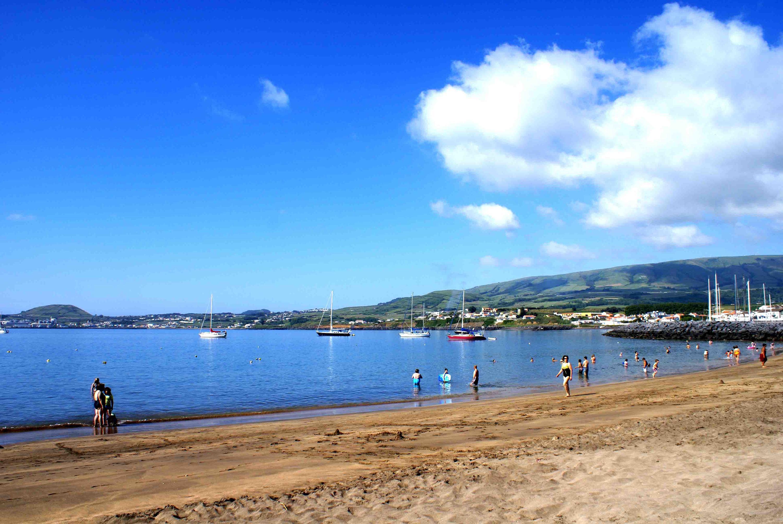 Praia da Oficiais, Praia da Vitória, ilha Terceira, Açores, Portugal.