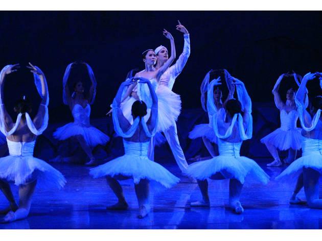 (Foto: Ballet La Bayadera. Imagen autorizada por la Compañía Nacional de Danza)