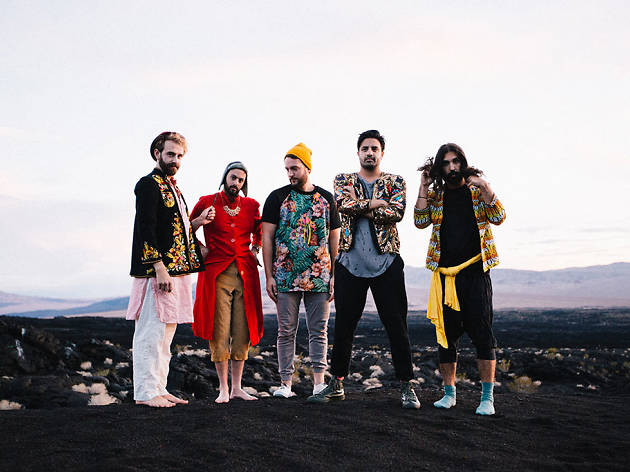 Young The Giant plays live