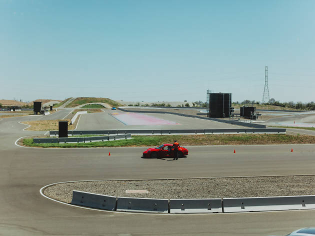 Live the high life at Porsche's restaurant overlooking a test track