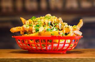 Loaded fries at Original Burger Co