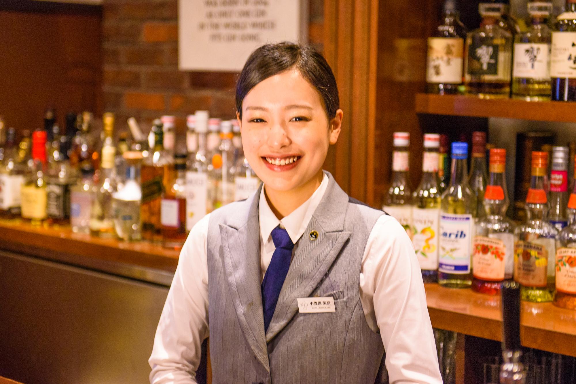 日比谷Bar 三田店:小笠原架奈
