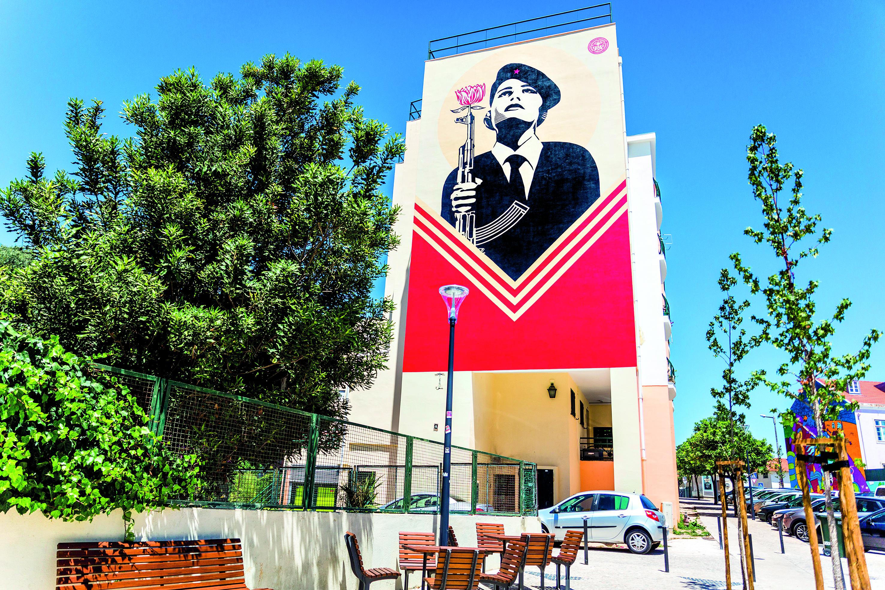 Mural Shepard Fairey