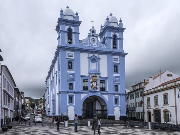 igreja azul