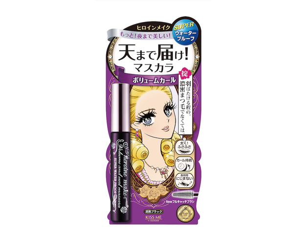 Kiss Me Heroine Make Volume and Curl Mascara Super Waterproof