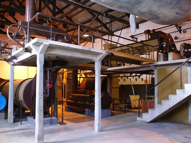 antiga fábrica da baleia
