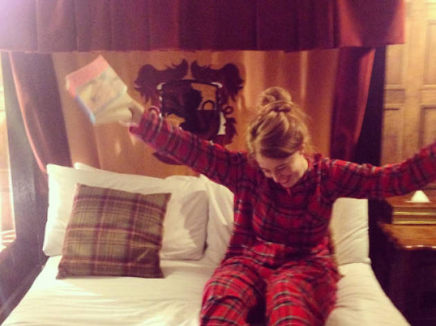 'The Wizarding Chambers' hotel experience