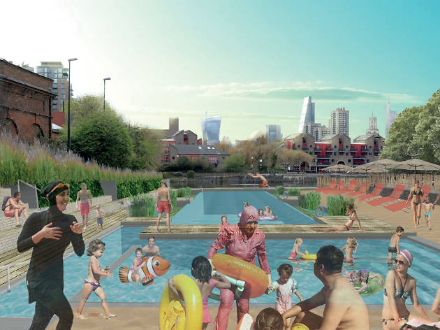 Wapping Lido plans