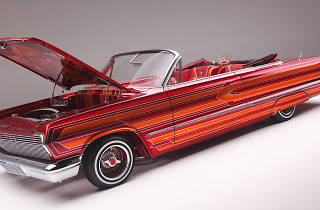 Lowrider Car Show at the Peterson Museum
