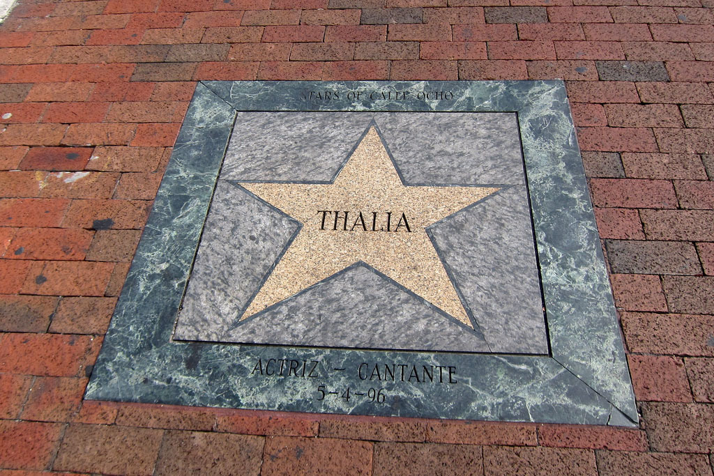 Calle Ocho Walk of Fame