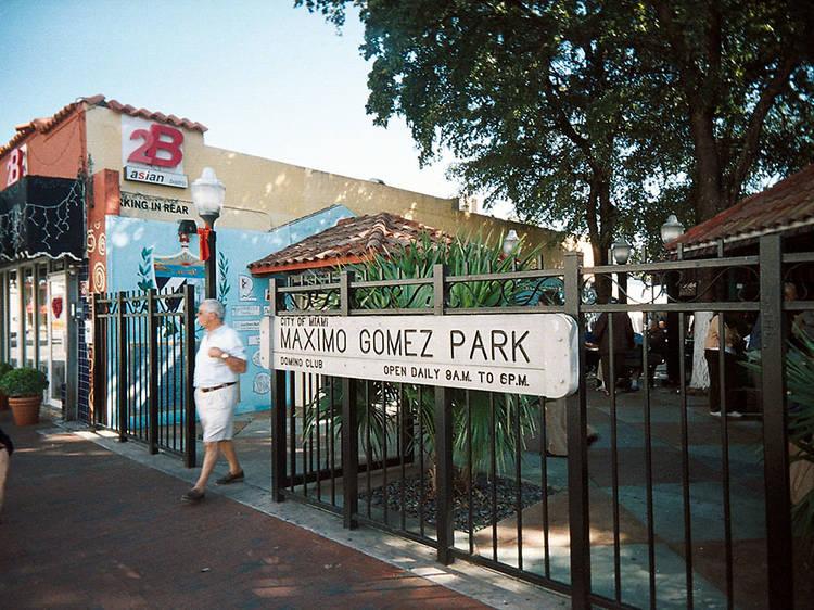 Máximo Gómez Park/Domino Park