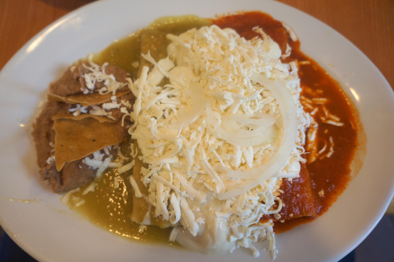 enchiladas mexicanas de El Regreso