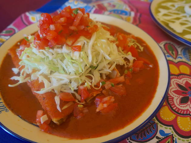 Enchiladas michoacanas Las Enchis en la CDMX