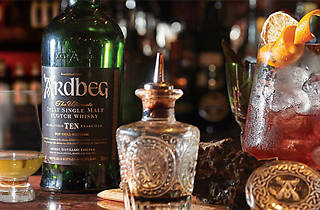 Ardbeg cocktail (commercial)