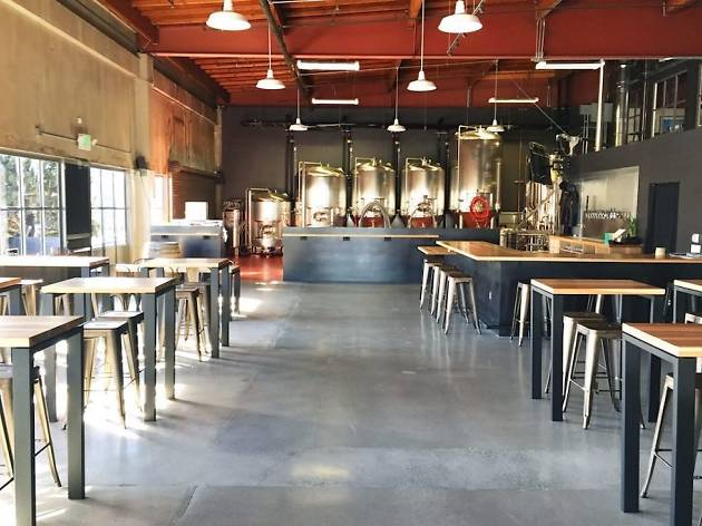 The set-up at Harmonic Brewing