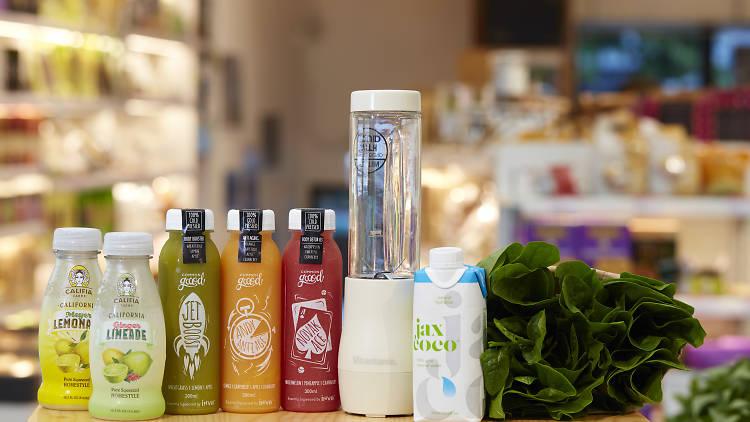 green common juices