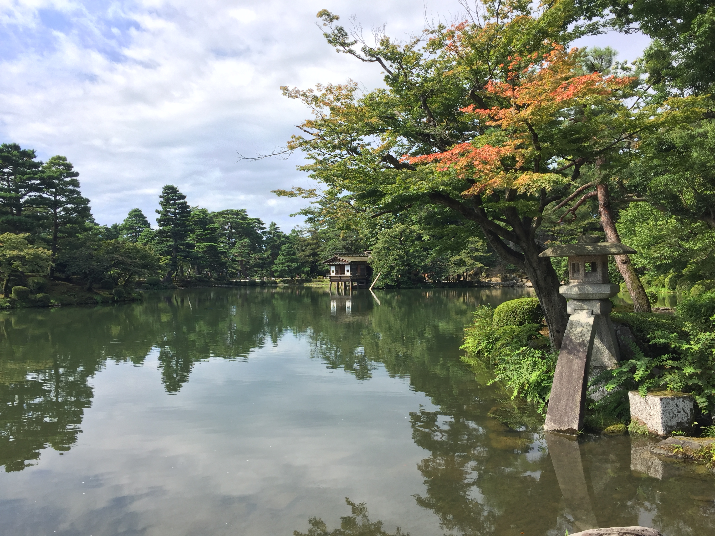 Kicking back in Kanazawa