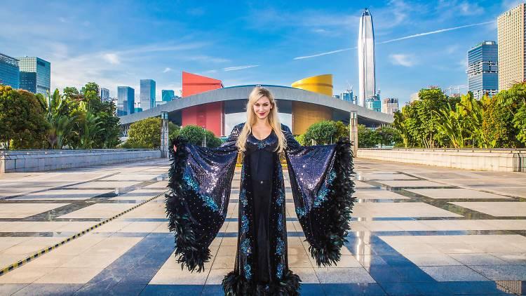 Charlotte Flair in Shenzhen