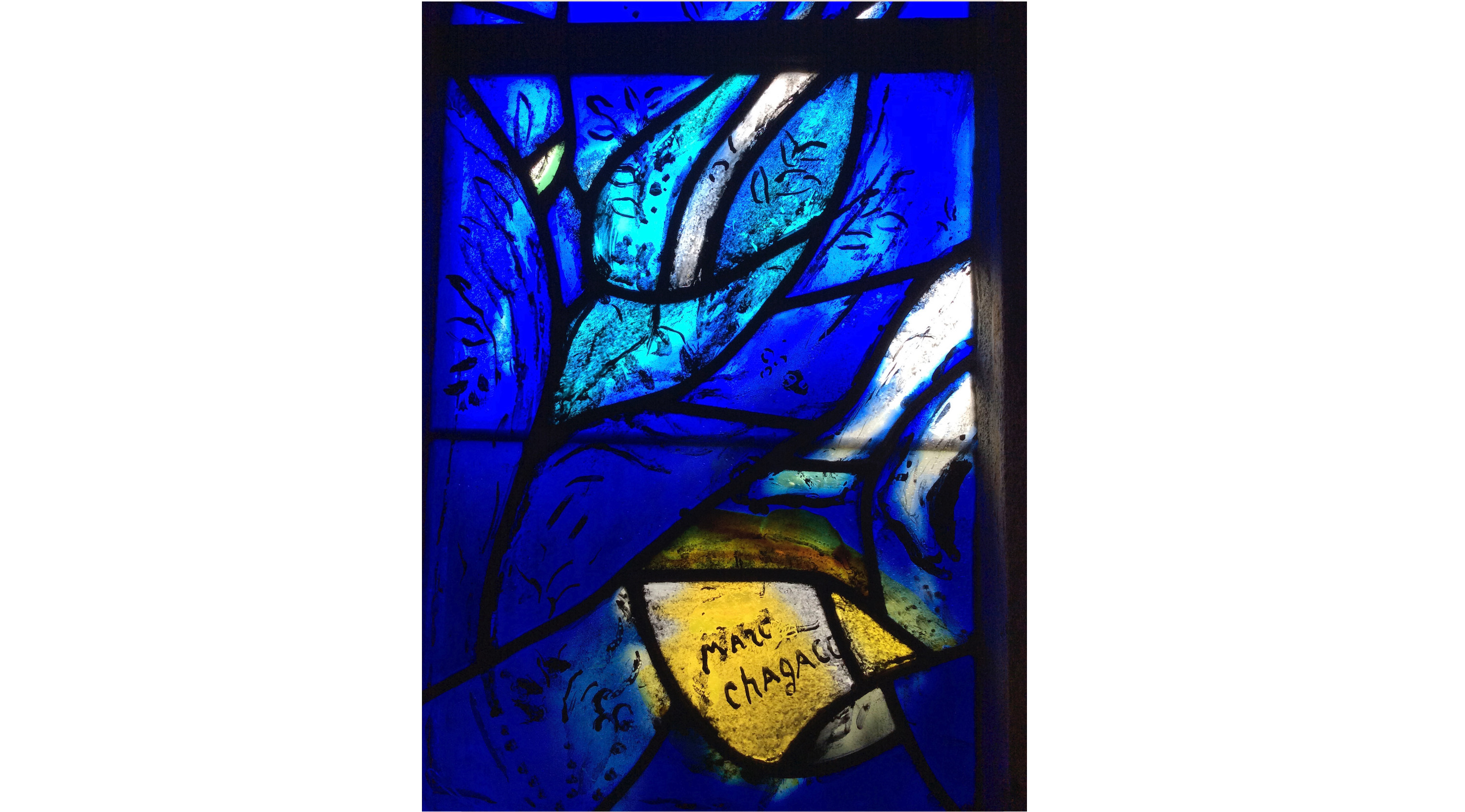 Marc Chagall, stained glass, all saints church, tudeley, art