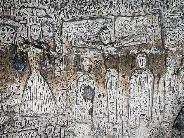 royston, cave, Hertfordshire, art