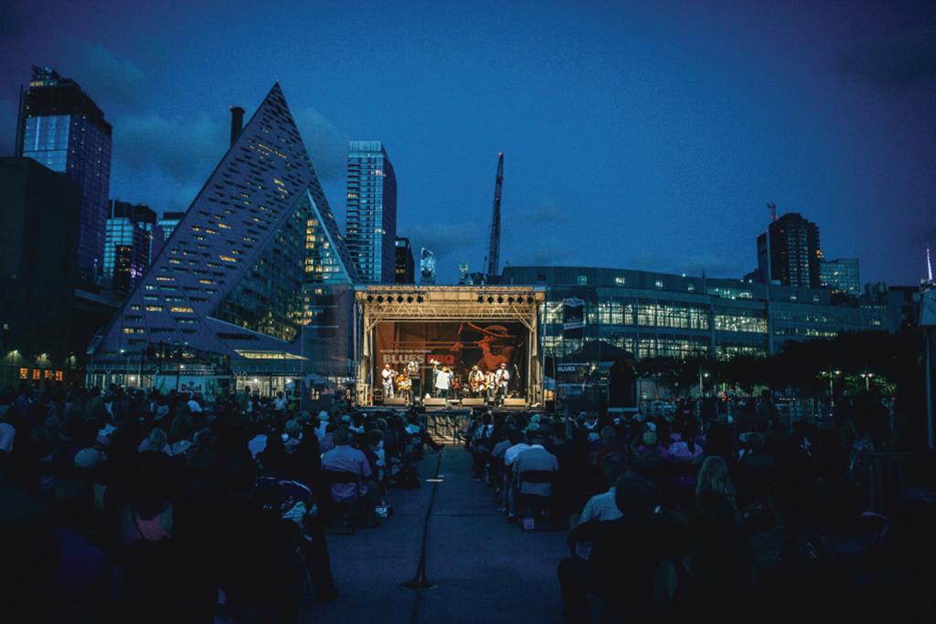 Hudson River Park's Blues BBQ Festival
