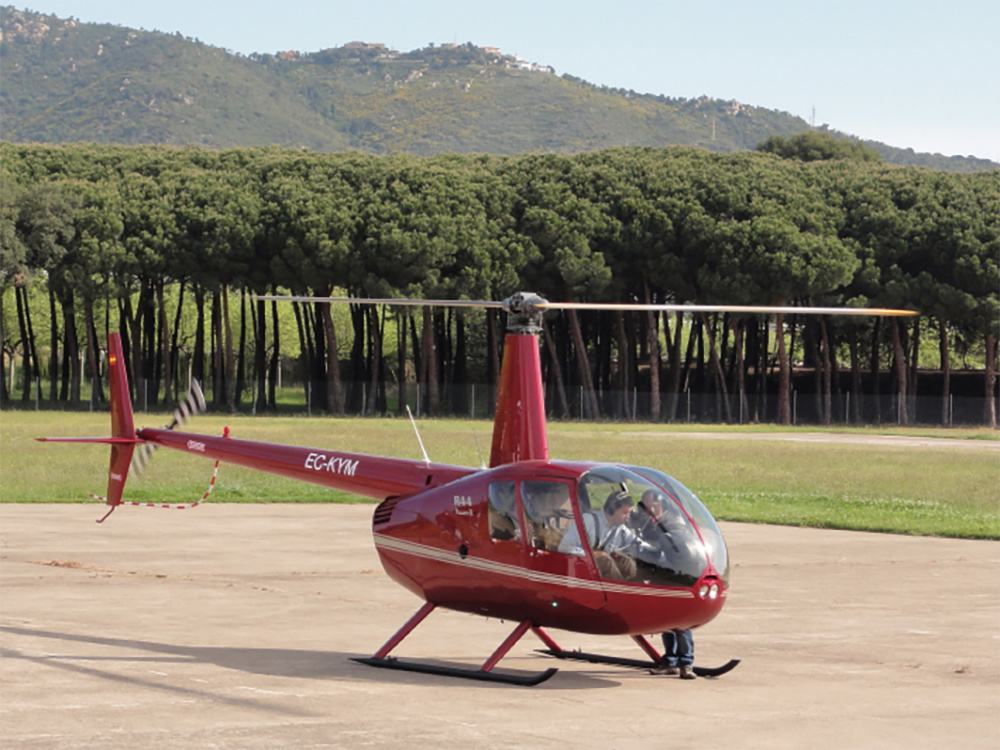 Helicòpter Platja d'Aro