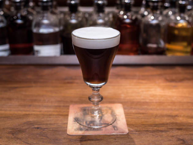 You can drink 'the world's best Irish coffee' in London this week