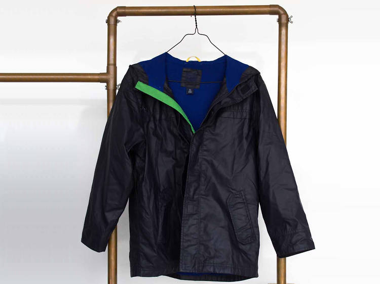 Chamarra impermeable