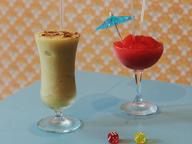 london's best slushie cocktails, bobby fitzpatrick, pina colada