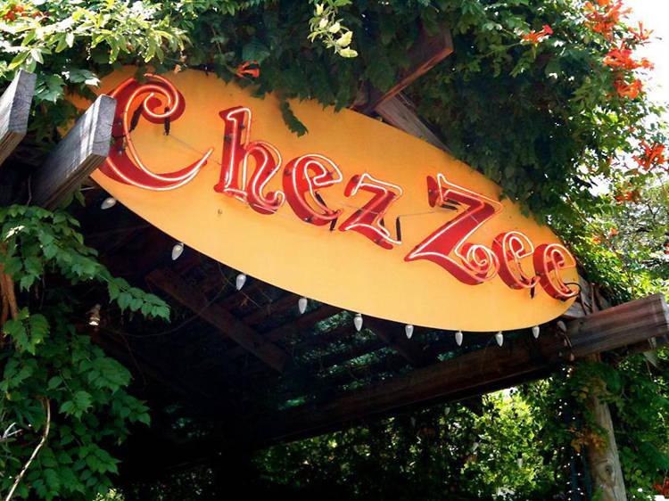 Lemon rosemary cake at Chez Zee