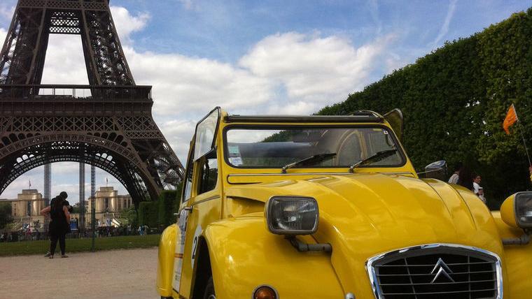 VIP Paris: Citroen 2CV