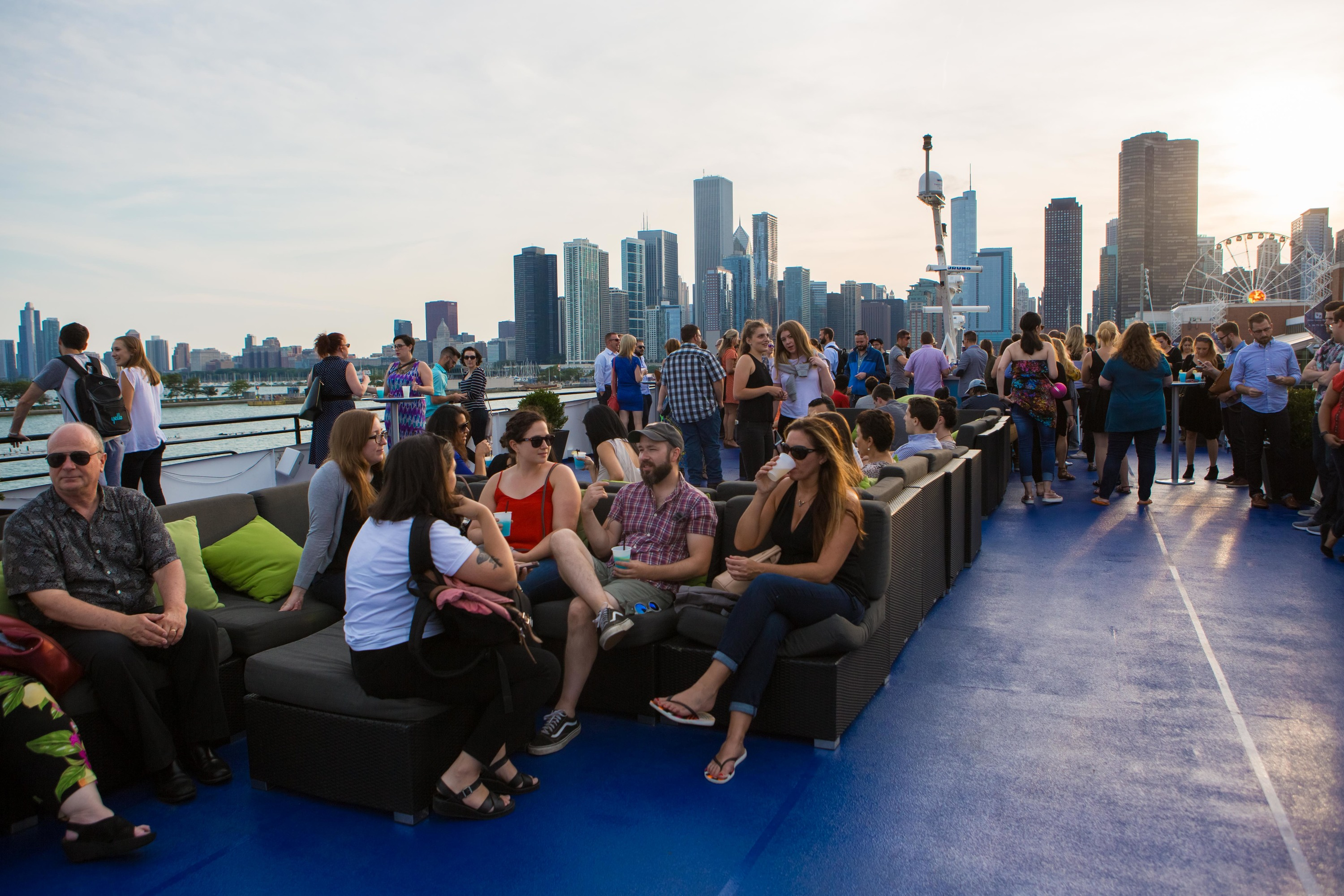 See photos from Time Out Chicago's August Sunset Sail Happy Hour