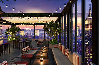 A rooftop bar with a mini golf course is coming to midtown