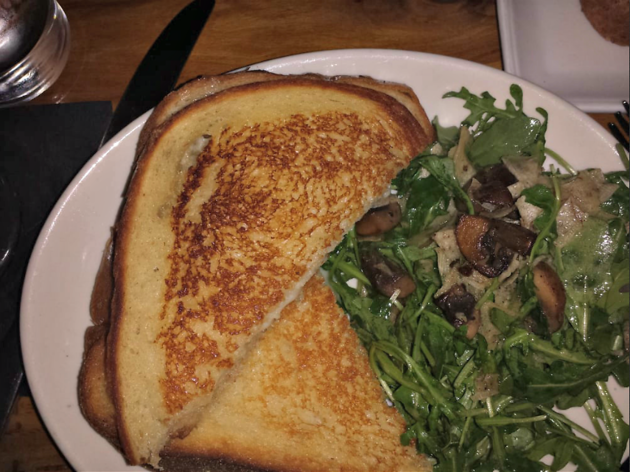 Truffle grilled cheese at Rye House