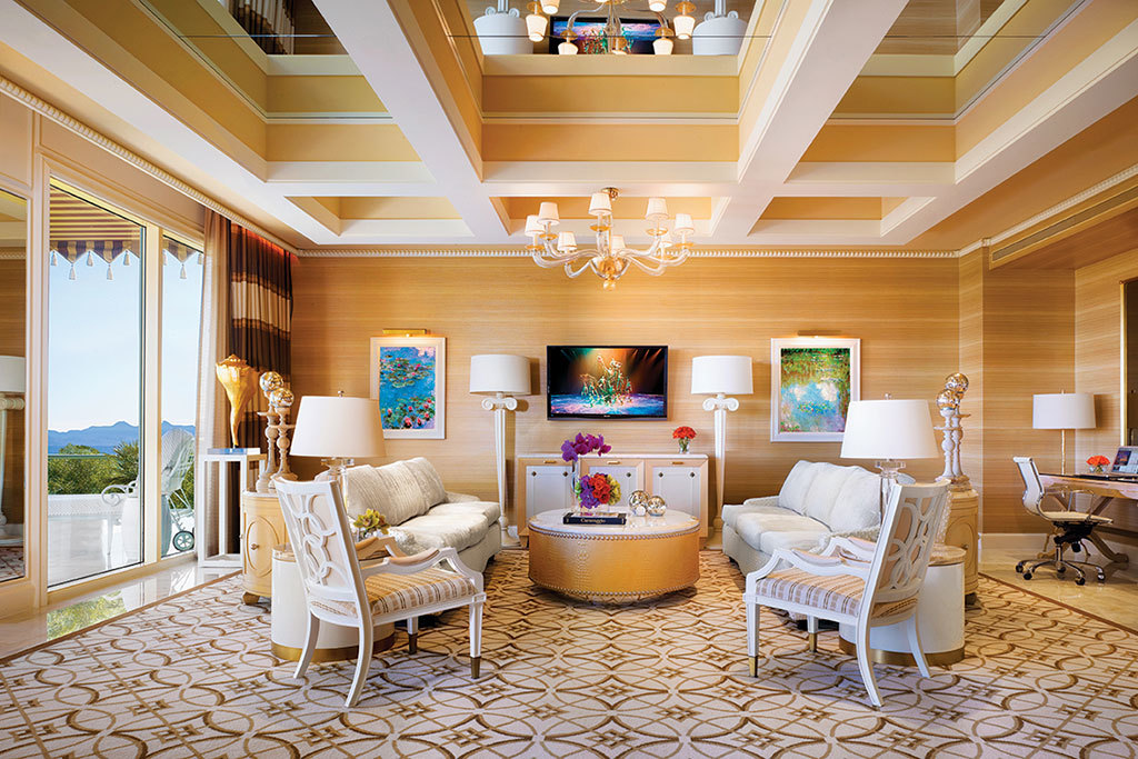 The 20 best Las Vegas hotel suites