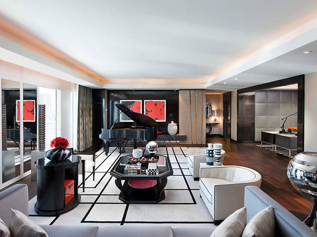 Emperor Suite at Mandarin Oriental Las Vegas