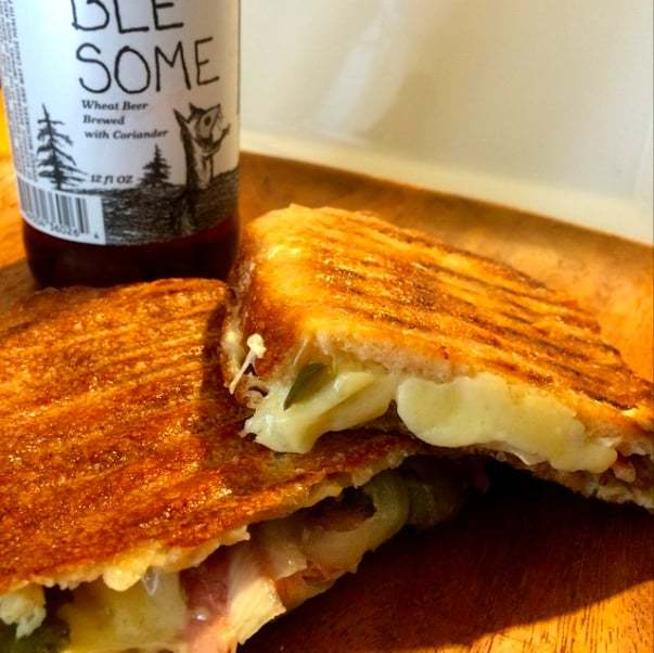 Lucy's Favorite Grilled Cheese at Lucy's Whey