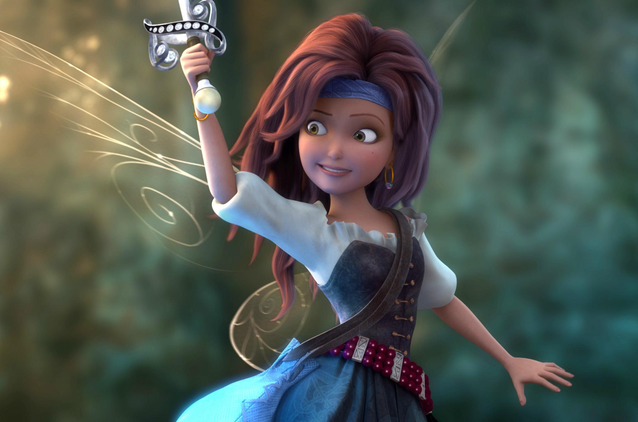 Película animada Tinker bell: hadas y piratas
