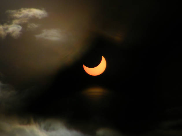 Eclipse: Sun set for disappearing act