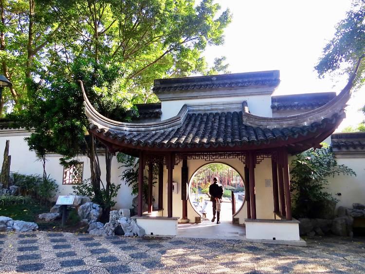 Sunday morning: Visit Kowloon Walled City Park
