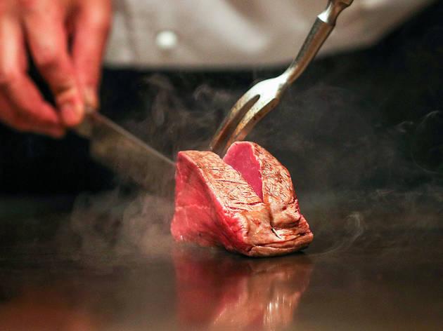 Beef at Japanese Teppanyaki Inn