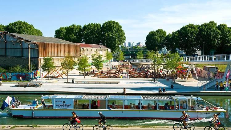 Hip-hop brunch on Canal de l'Ourcq