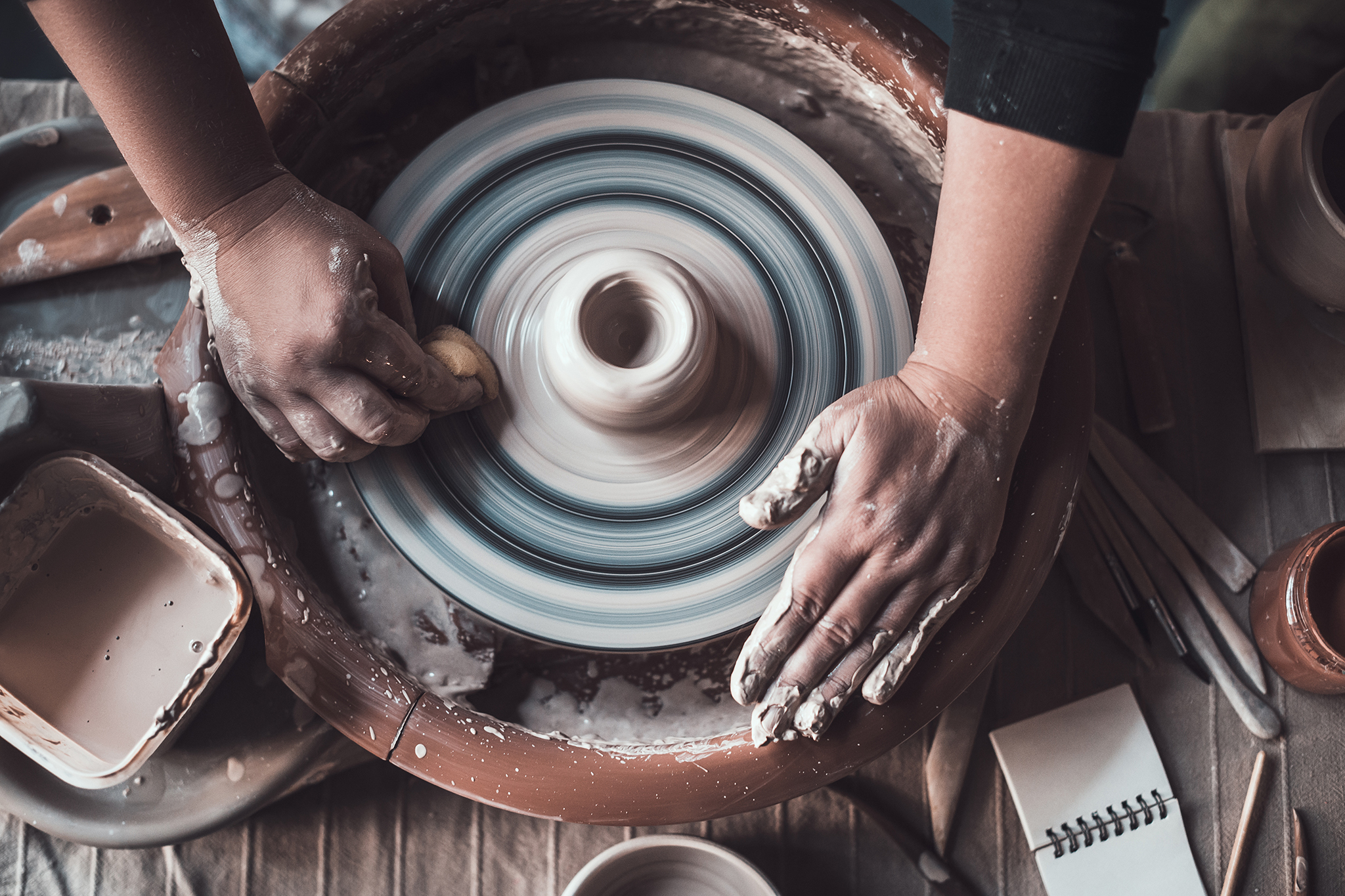Pottery classes NYC for budding artists