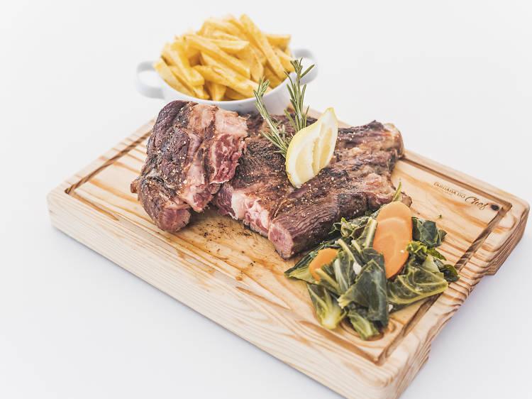 Três sítios para comer carne maturada