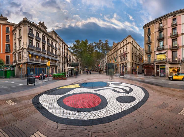 Miró mosaic