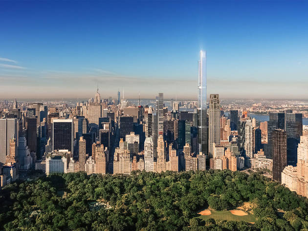 A New Nyc Tower Will Be The Tallest Residential Building