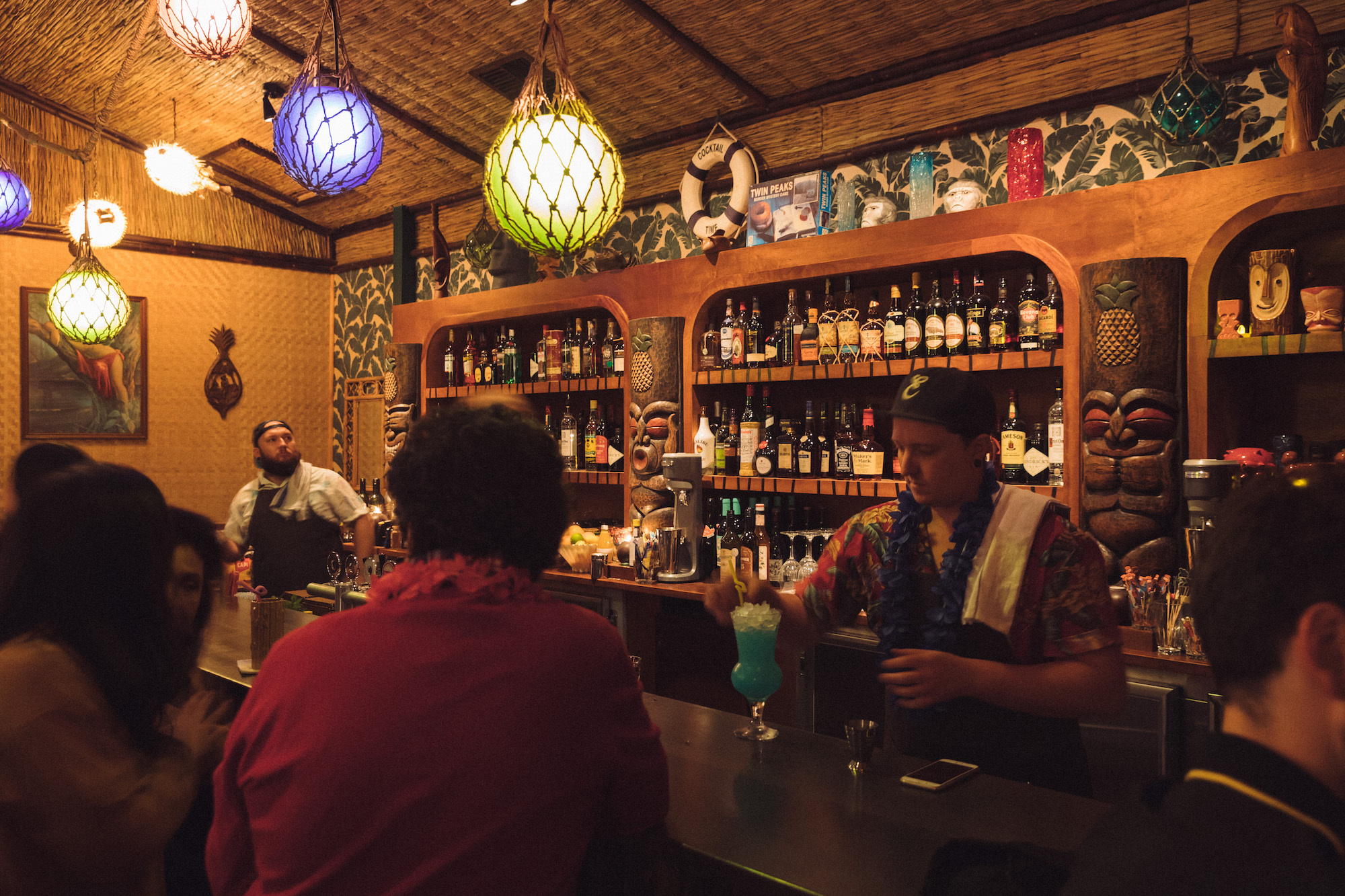 There's a classic tiki bar opening in Enmore tonight